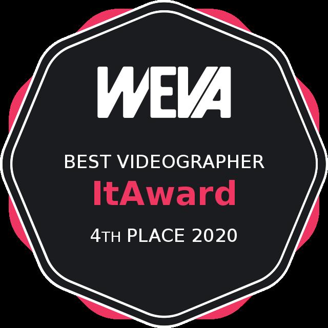 Weva Awards 2020 - Best videographer