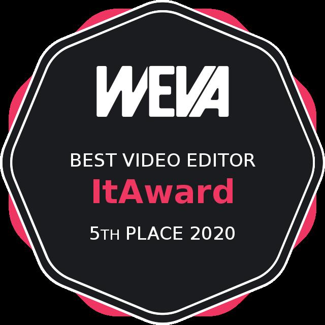 Weva Awards 2020 - Best video editor